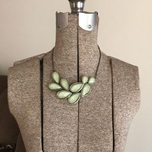Jewelry - Green necklace- World Market